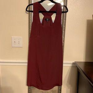 Mossimo Burgundy Dress
